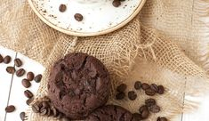 Just when you thought chocolate chip cookies couldn't get any better, we doubled the chocolate and added some coffee. Chip Cookie Recipe, Cookie Recipes, Spiderman Cupcake Toppers, Gumpaste Recipe, Bolo Minnie, Minnie Mouse, Flower Pot Cake, All You Need Is, Icing Techniques