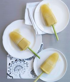 Australian Gourmet Traveller recipe for tropical pops.