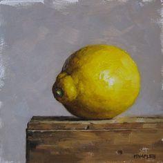 MICHAEL NAPLES - Lemon facing Left