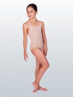 e995a1ae6da Child Seamless Camisole Undergarment Leotard