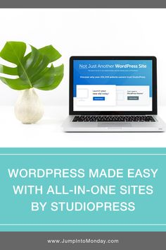 Blogging just got easier! StudioPress has created an all-in-one Wordpress website builder. It's perfect for bloggers who want an easy, no-hassle site that still has all of WordPress' premium features, yet is super easy to work with! Now you can focus on creating awesome content, and forget about fooling around with technology. Pin this!