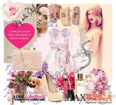 """look gorgeous"" by novac-georgiana ❤ liked on Polyvore"