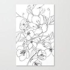 Crabapple Blossoming Canvas Print Canvas Prints, Curtains, Shower, Art, Rain Shower Heads, Art Background, Blinds, Photo Canvas Prints, Kunst
