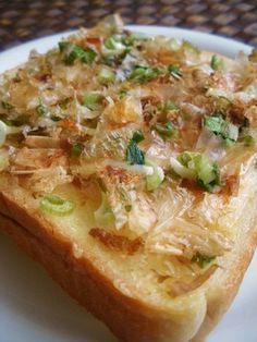 あらおいしいっ〃鰹節とお葱だけのトースト by ayureo [クックパッド ...