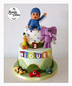 Pocoyo and Friends Cake - The Family Cakes