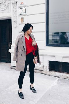 outfit with blazer Casual Chic Outfits, Smart Casual Wear, Chic Winter Outfits, Casual Blazer, Work Casual, Trendy Outfits, Blazer Outfits For Women, Office Outfits Women, Skinny