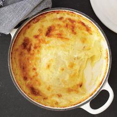 Рецепт картофельной шантильи с сырной корочкой