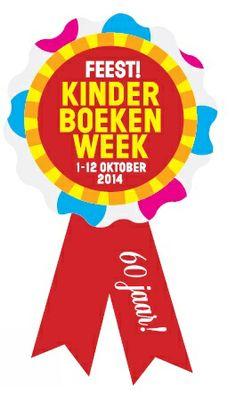 Het officiele logo van de Kinderboekenweek