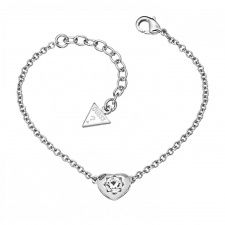 Guess Crystals of Love Bracelet UBB51413 Love Bracelets, Bangle Bracelets, Bangles, Fiorelli, Pendant Necklace, Jewels, Crystals, Diamond, Silver