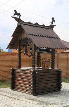 декоративные колодцы из дерева: 15 тыс изображений найдено в Яндекс.Картинках