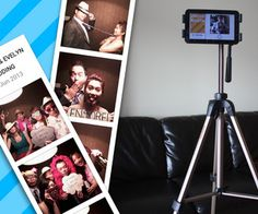 5-minute Photo Booth setup using android tablet (free version of app w/o personalization also available)
