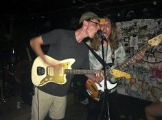 The raging Wall four-piece rocked wildly for a small crowd at the Meat Locker Wednesday
