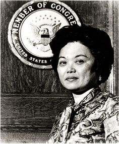 Patsy Mink, the author of the Title IX Amendment of the Higher Education Act.