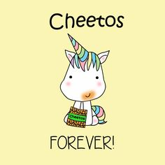 UNICORN KAWAII UNICORNIO CHEETOS