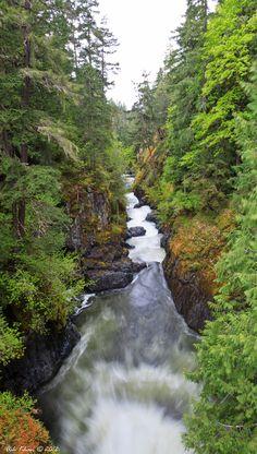 Englishman Falls, Nanaimo BC by Ash Khan, via 500px