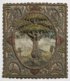 16th C silk panel so exquisite
