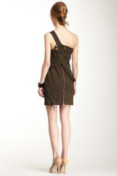 L.A.M.B. Asymmetrical Lace-Up Dress by L.A.M.B. on @nordstrom_rack