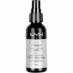 Nyx CosmeticsDewy Finish Makeup Setting Spray