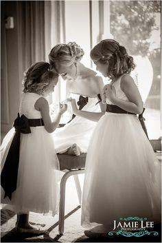 01 Hyatt Regency Coconut Point Fort Myers Wedding (4) Navy blue and orange wedding - flower girls