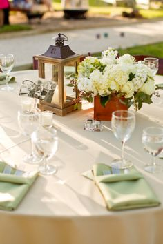 Creative table settings by The Chef's Touch Caterers and Event Planners of Santa Ynez, Ca.