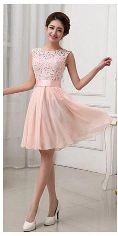 Lace Chiffon Patchwork Cute Princess Dress Summer Sleeveless Tank Dress Slim Elegant Short Prom Party Dress Robe MK096
