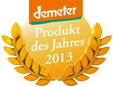"""demeter product of the year 2013"": Lebensbaum Kaapi Kerala Espresso from biological/organic agriculture"