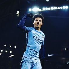 @premierleague Leroy Sane nets the opener following a brilliant Kevin De Bruyne through ball
