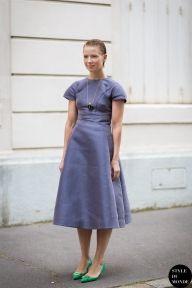 STYLE DU MONDE / Haute Couture Fall 2014 Street Style: Vika Gazinskaya  // #Fashion, #FashionBlog, #FashionBlogger, #Ootd, #OutfitOfTheDay, #StreetStyle, #Style
