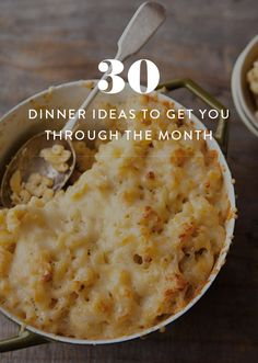 What to Eat Every Night For the Entire Month. Meal templates and easy to make dinners for every night of the month. Ideas so you're always ready for dinner.