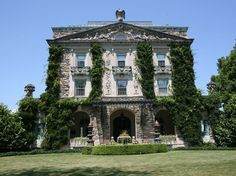 The Kykuit mansion in Tarrytown, New York.  Kykuit is Dutch for 'look-out.'  The estate covers more than 3,000 acres. Rockefeller estate
