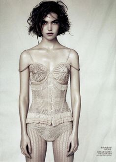 Arizona Muse in Vogue China April 2011 by Paolo Roversi
