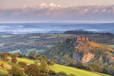 Carreg Cennen Castle, Wales | 6 must-visit places in Wales. Ruthin? Really? Well, if you say so...