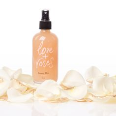 Olivine Love + Roses Beauty Mist  Once you've treated your skin, replenish with this too-goo-to-be-true beauty mist made from rose oil, Rhodiola rosea, oat protein, vegan lipids, and vegetable glycerin. The natural scent is intended to soothe anxiety and worries while the ingredients plump and repair.