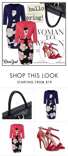 """""""rosegal"""" by k-lole ❤ liked on Polyvore"""