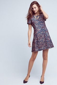 Serron Printed Dress #anthropologie