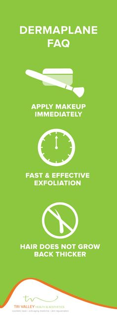 Get a smoother & brighter complexion with dermaplane—and you'll love the smoother makeup application! #makeup #skincare