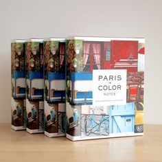 Paris in Color Notes, Notecard Set, French Greeting Card Collection, Paris Gift Card, NR