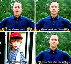 Forrest Gump❤️ I cried for, like, the last ten minutes of the movie.