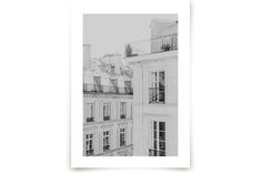 Parisian Rooftops by Lindsay Ferraris Photography at minted.com