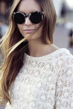 Beautiful tortoise shell looking sunglasses