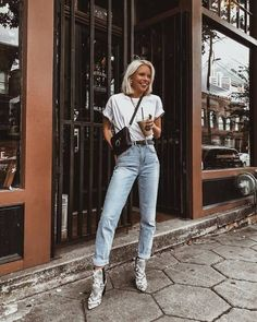 Casual Fall Outfits That Will Make You Look Cool – Fashion, Home decorating Booties Outfit, Outfit Jeans, Summer Boots Outfit, Winter Boots Outfits, Jean Outfits, Casual Outfits, Cute Outfits, Fashion Outfits, Snake Boots