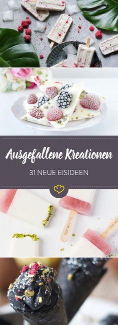 Eis am Stiel, Sorbet, Nicecream und natürlich das cremige Gelatto: Unsere Blogger haben ihre ausgefallensten Eis-Rezepte für dich herausgesucht.