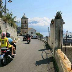 On the way down from Agerola to Amalfi. Daily life on the path of the ancient…