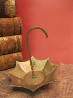Mini Brass Umbrella by Suite22 on Etsy, $6.00