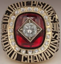 1990 NBA Championship Ring