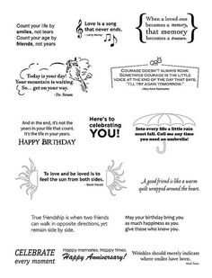 Greeting card sayings Quotes for birthday Greeting Card Sentiments, Birthday Sentiments, Birthday Card Messages, Greeting Cards, Scrapbooking, Scrapbook Cards, Verses For Cards, Card Making Tips, Card Sayings