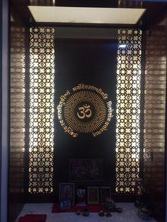 Pooja Room Door Design Photos Pictures Door Designs For Pooja Room Pooja Room Door Design, Wall Decor Design, Ceiling Design, Decor Wedding, Wedding Colors, Wedding Flowers, Door Design Photos, Temple Design For Home, Jaali Design