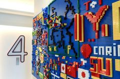YOTEL's 30-ft-long Interactive LEGO Wall Invites Guests to Play | Inhabitat New York City