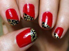Red Jaguar Nails