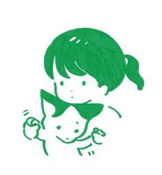 Cute Illustration, Graphic Design Illustration, Pretty Art, Cute Art, Yazawa Ai, Icon Png, Arte Indie, Funky Art, Cute Doodles